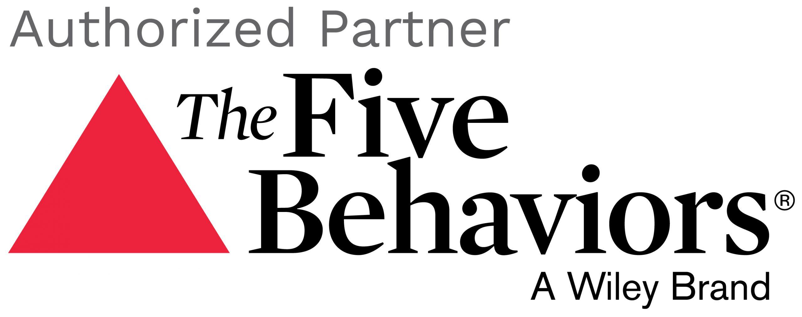 Five Behaviors Authorized Partner.