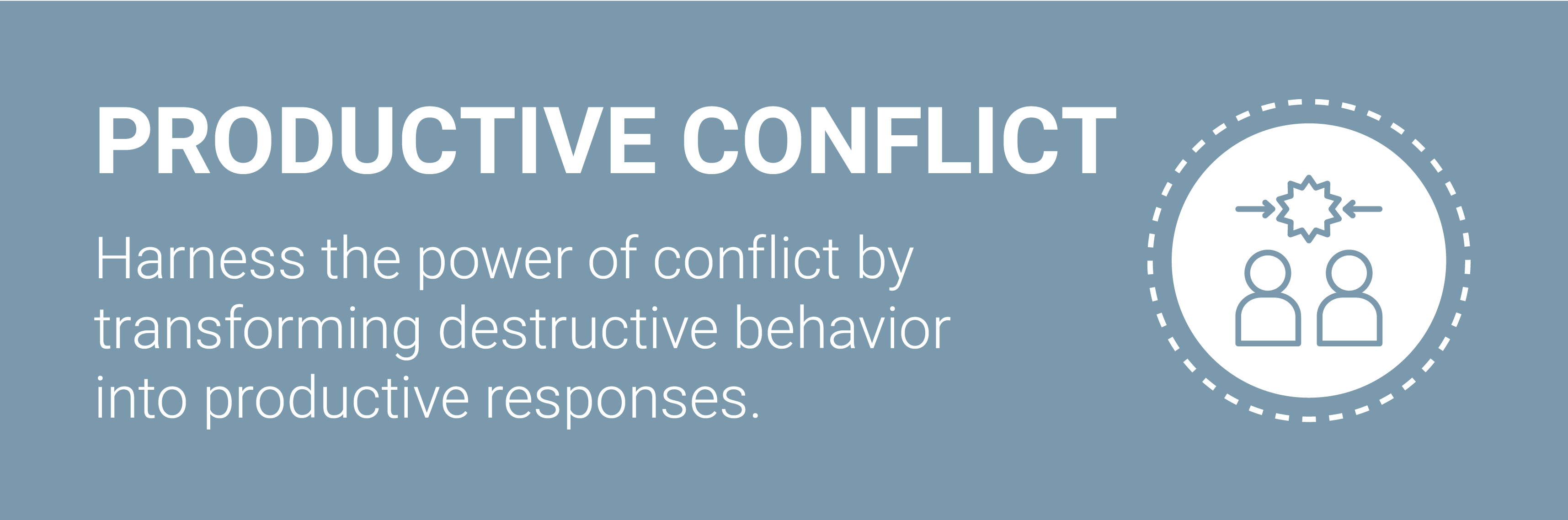 Everything DiSC Productive Conflict Program.