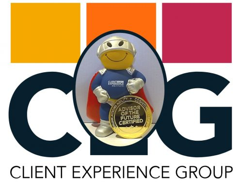 Beyond the Trusted Advisor™-- Advisor of the Future Certification guy and coin.