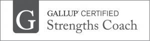 Gallup Certified Strengths Coach identifier.