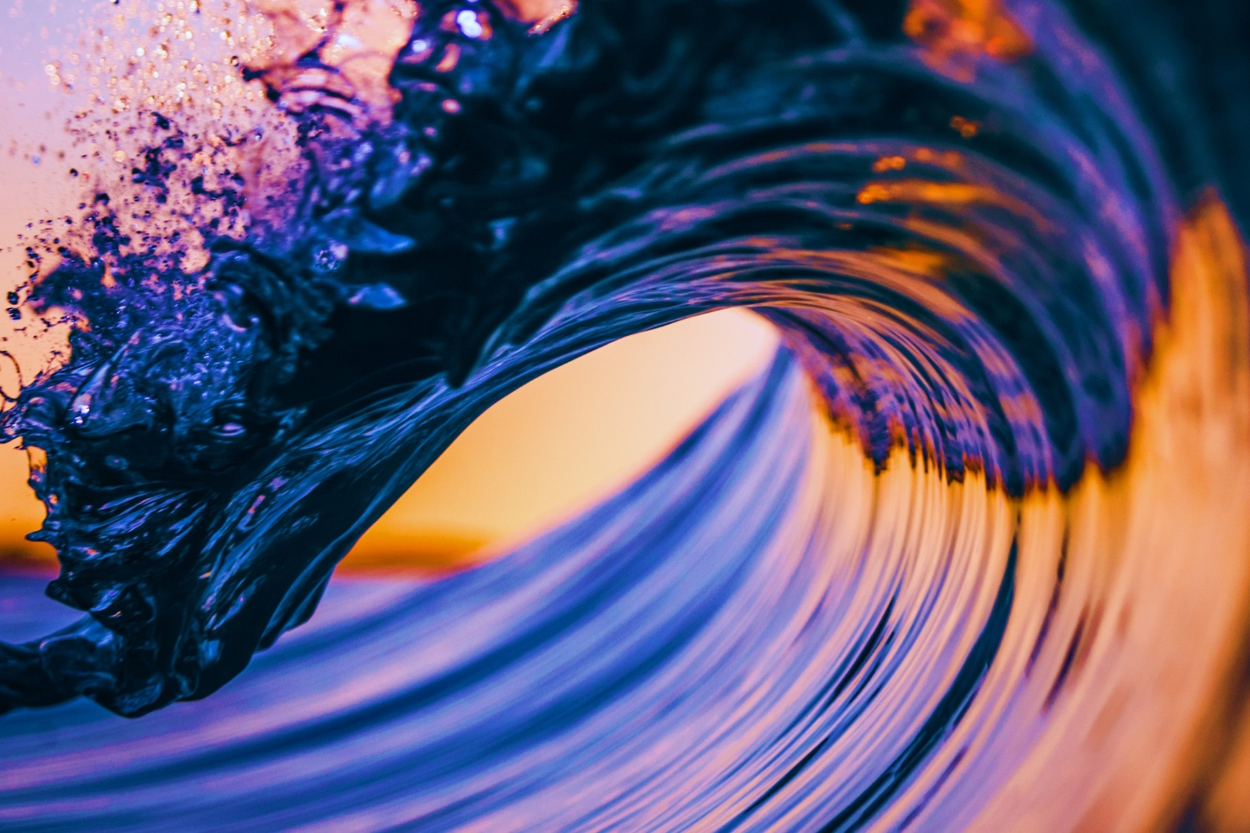 A big multi-color wave - Stronger Teams, Deeper Client Relationships and Authentic Brands.